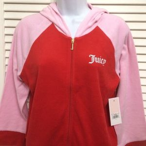 Juicy Couture hoodie pink large